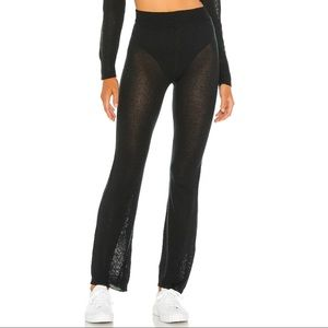 Revolve h:ours Mina Knit Pant in Black
